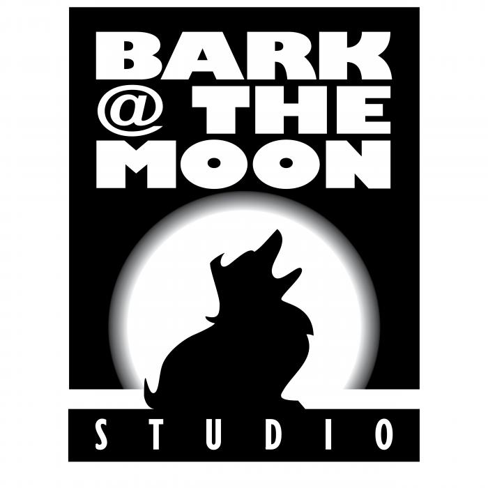 Bark @ The Moon logo black