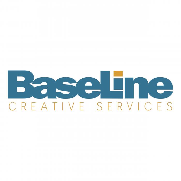 Baseline logo blue