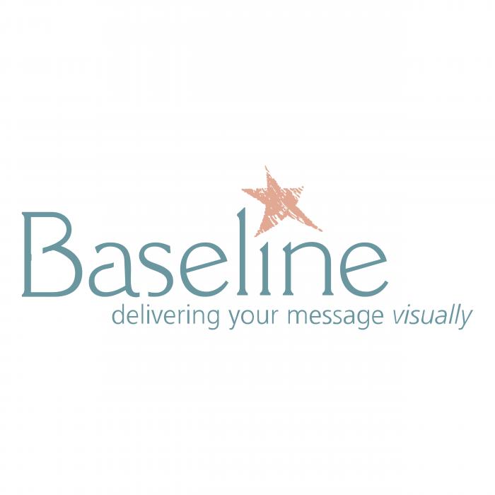 Baseline logo pink