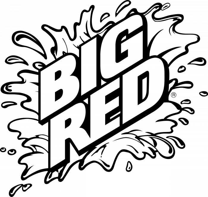 Big Red logo drink