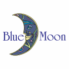 Blue Moon logo blue