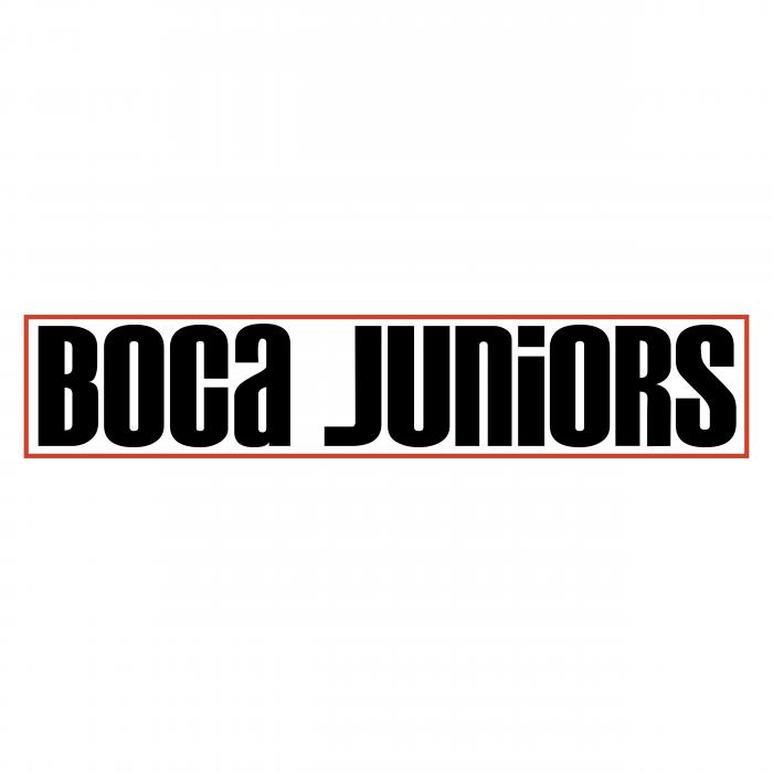 Boca Juniors logo black