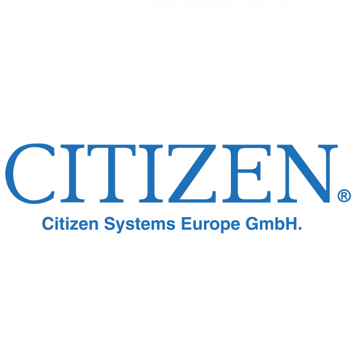 Citizen logo blue