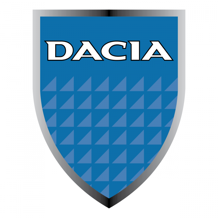 Dacia logo silver