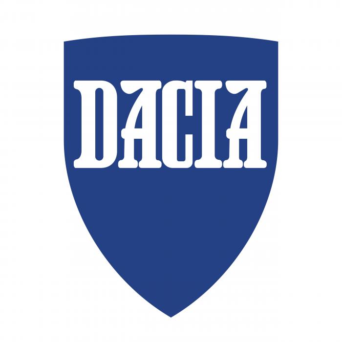 Dacia logo white