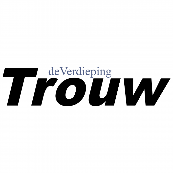 Dagblad Trouw logo black
