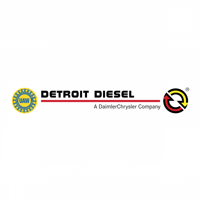 Detroit Diesel logo colour