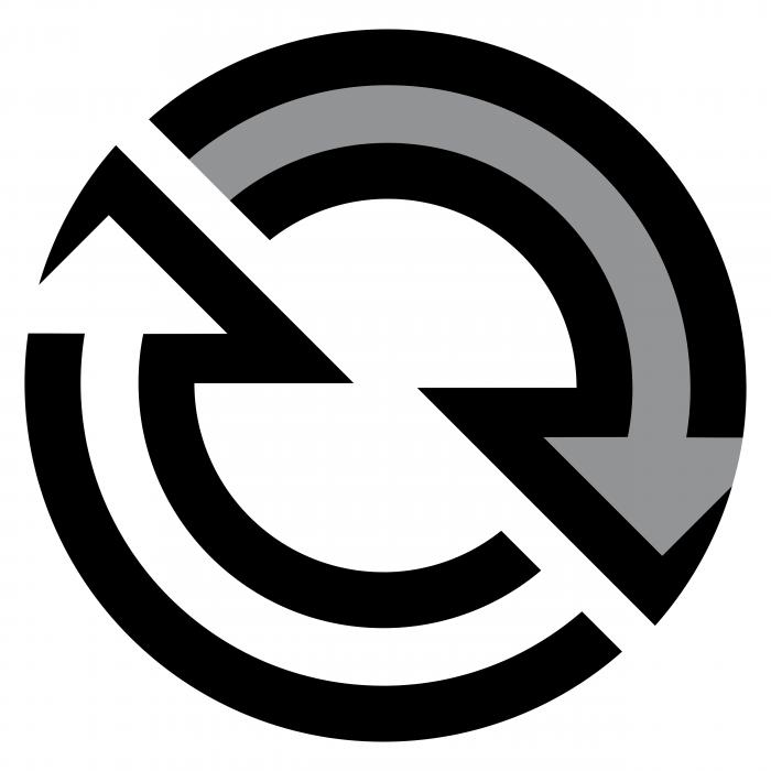 Detroit Diesel logo grey
