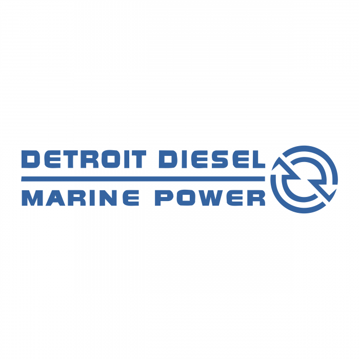 Detroit Diesel logo marine power