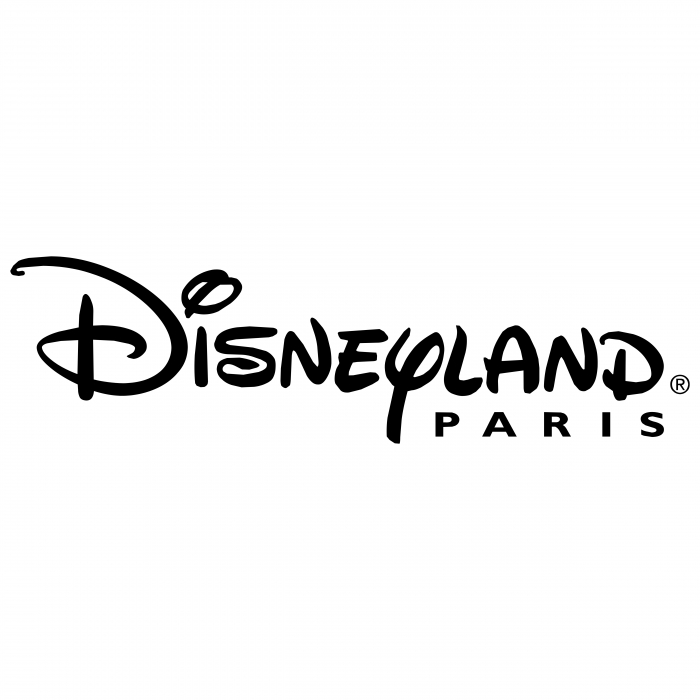 Disneyland Paris logo black