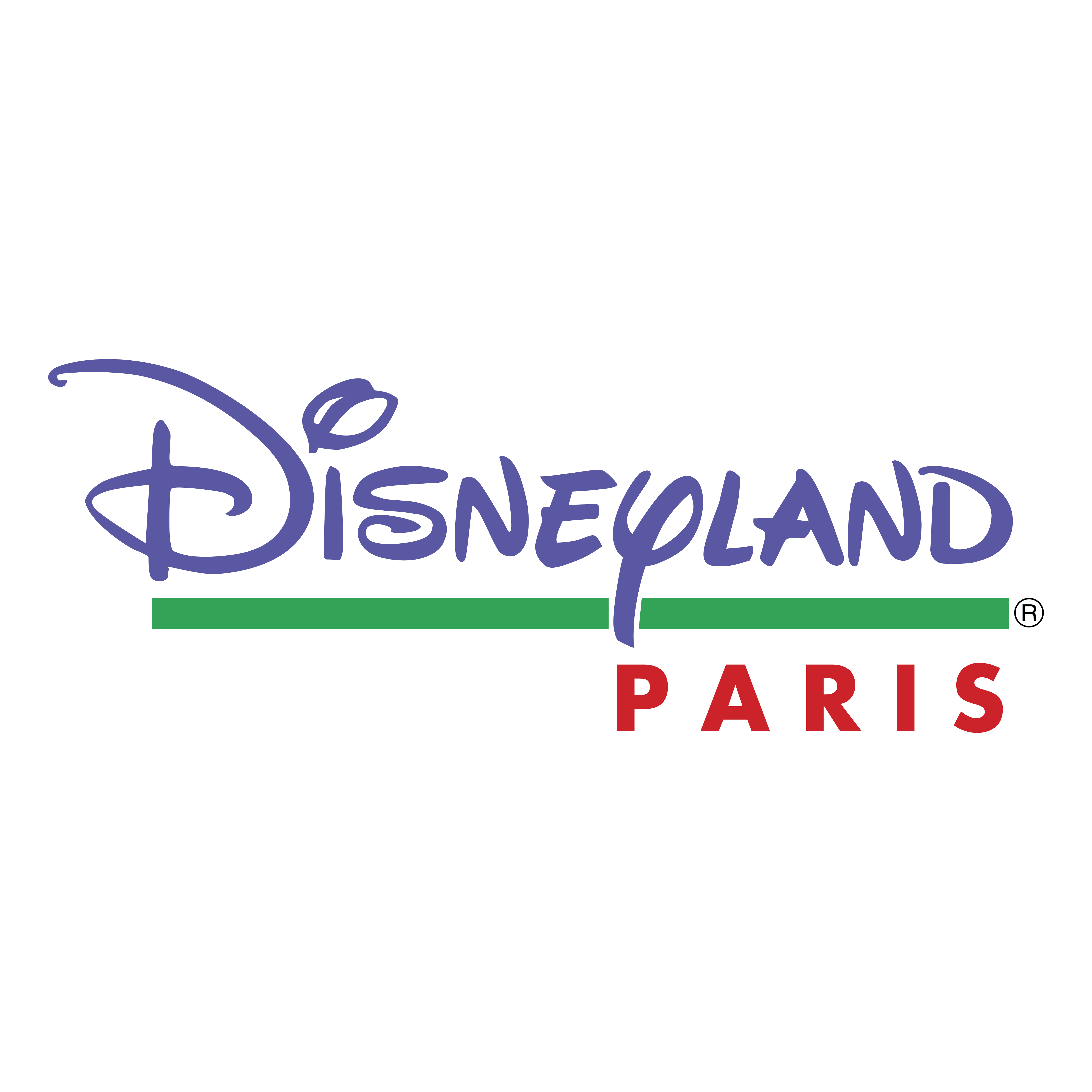 Disneyland Paris Schriftzug