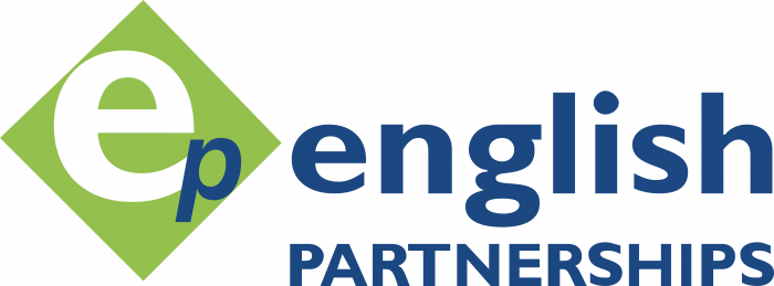 English Partnership logo colour