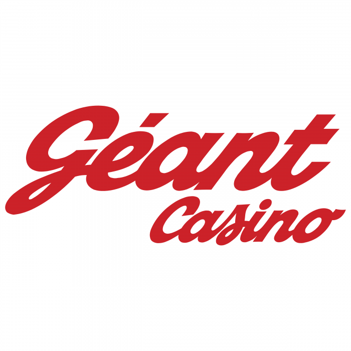 Geant Casino logo red