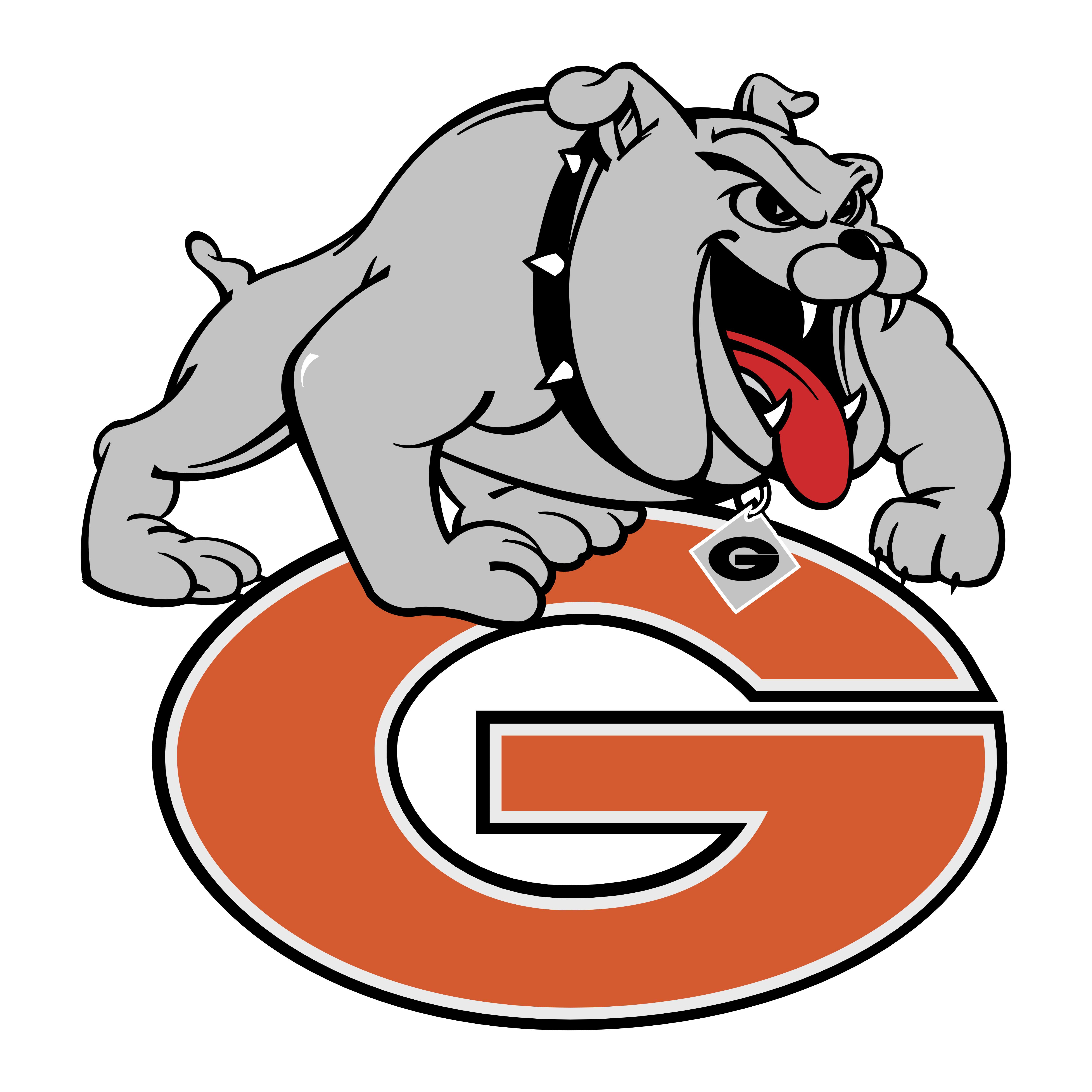 Georgia Bulldogs – Logos Download  Red Dog Logo Brand
