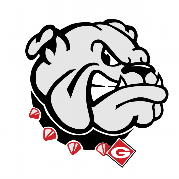 Georgia Bulldogs logo dog g