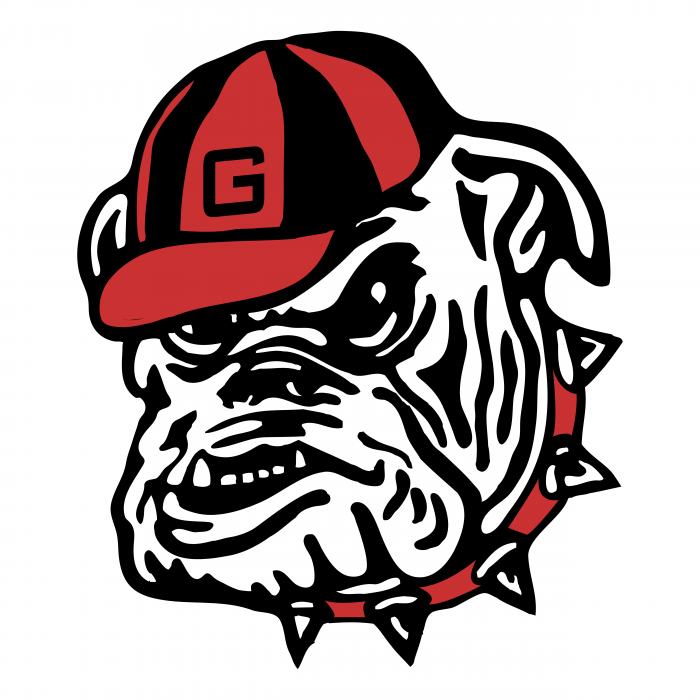Georgia Bulldogs logo head