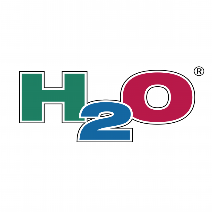 H2O logo r
