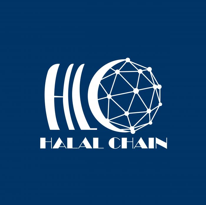 Halalchain logo cube