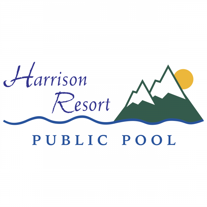 Harrison Resort logo pool