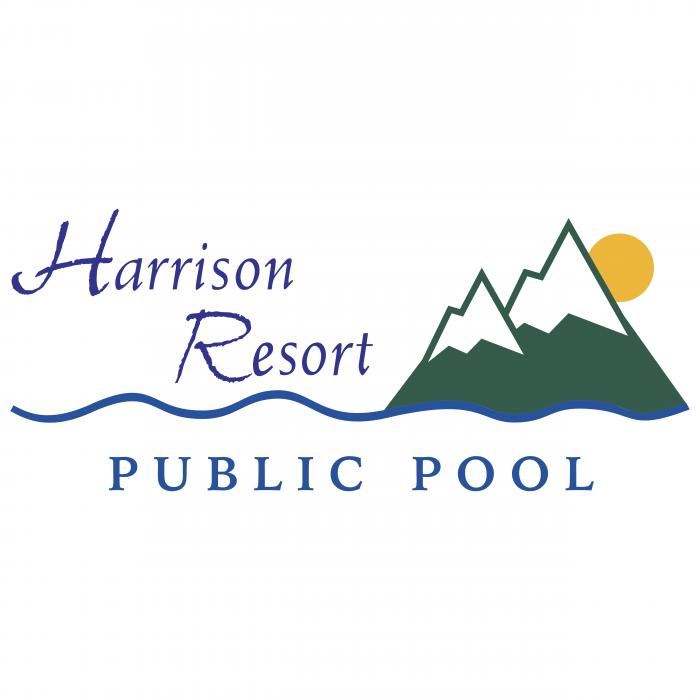 Harrison Resort logo pool