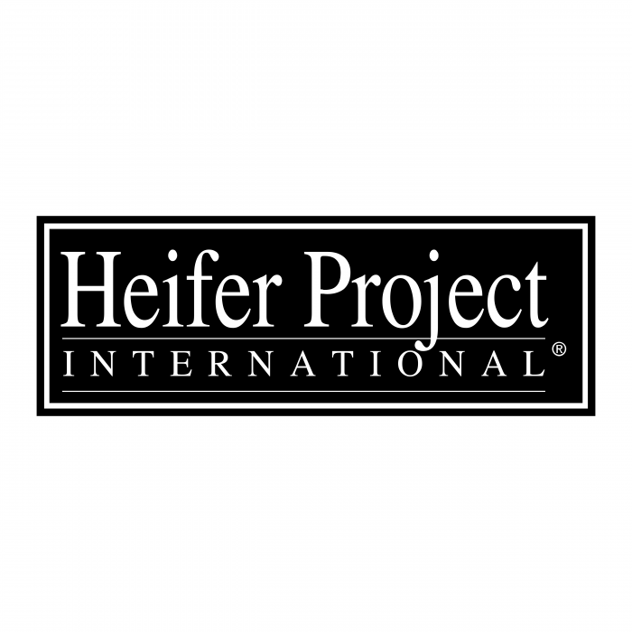 Heifer Project logo bLack
