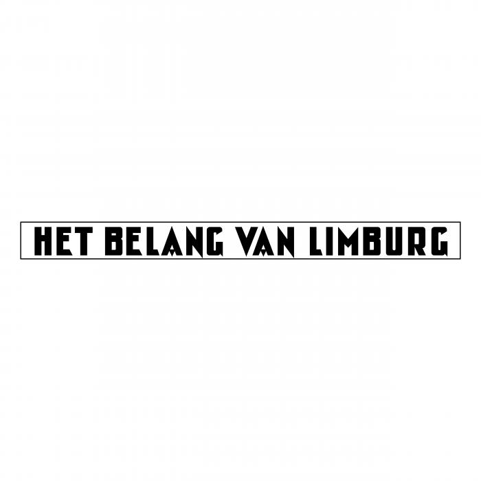 Het Belang van Limburg logo black