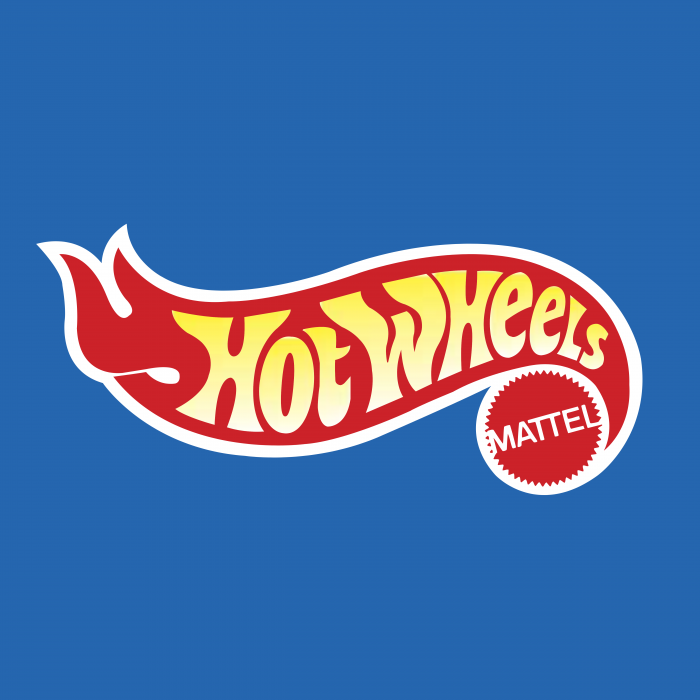 Hot Wheels logo cube