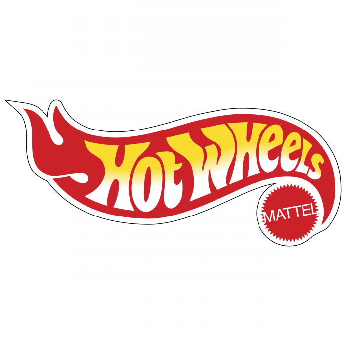 Hot Wheels logo red