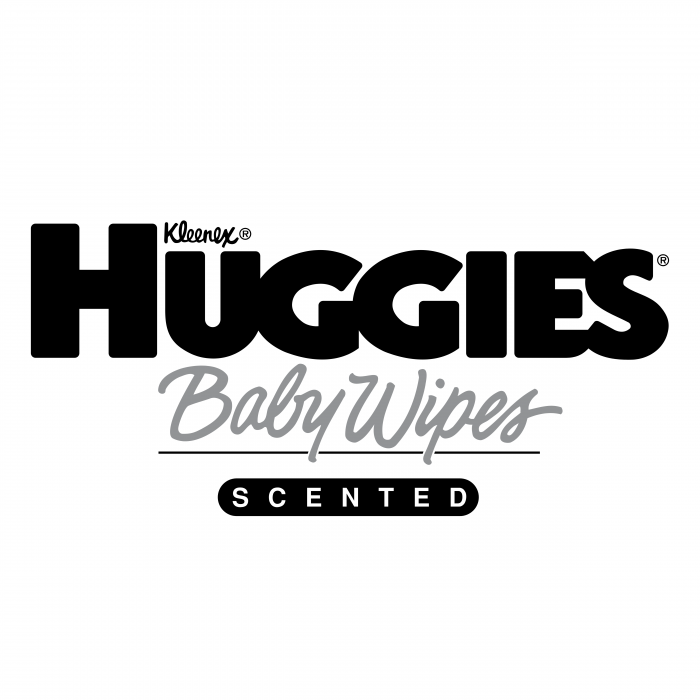 Huggies logo baby wipes