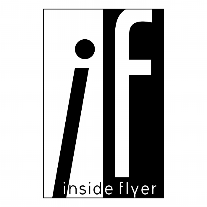 Inside Flyer logo black