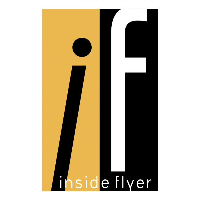 Inside Flyer logo gold