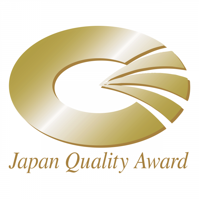 Japan Quality Award logo gold