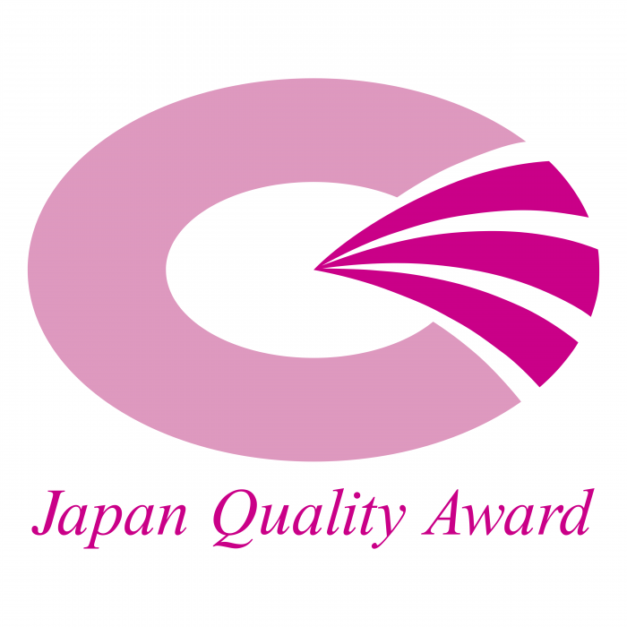 Japan Quality Award logo pink