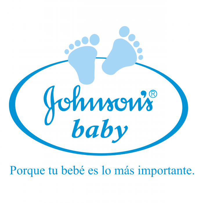 Johnson's Baby logo blue