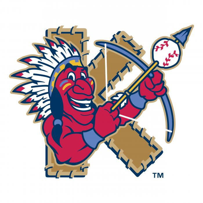 Kinston Indians logo tm