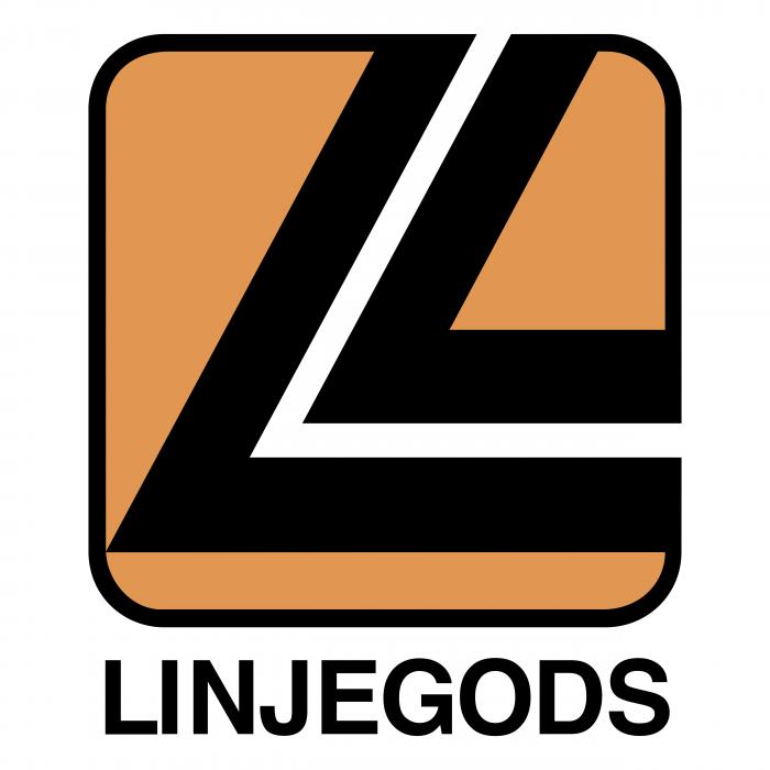 Linjegods logo black