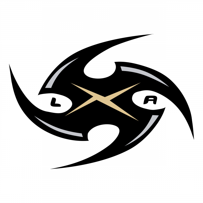 Los Angeles XTreme logo black