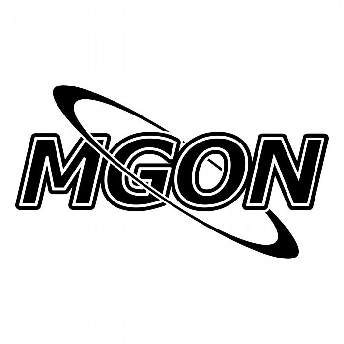 MGon logo black