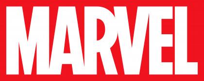 Marvel logo red