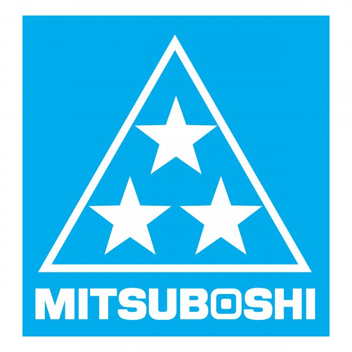 Mitsuboshi Belting logo blue