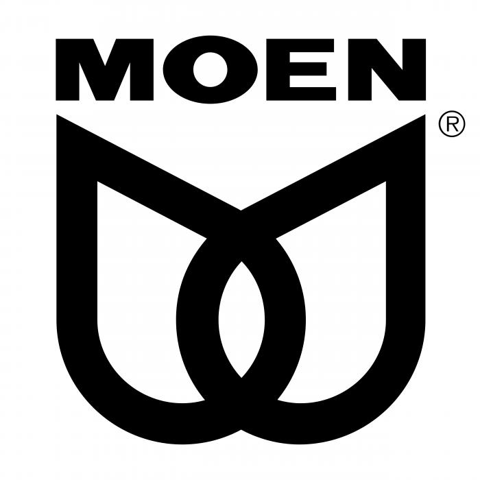 Moen logo black