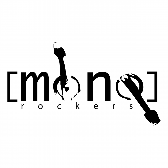 Mono Rockers logo black