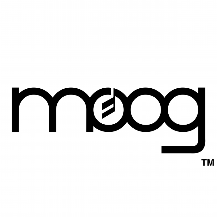 Moog logo black