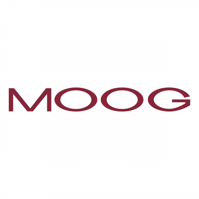 Moog logo red