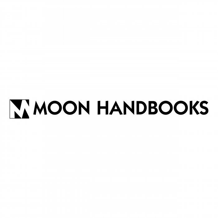 Moon Handbooks logo black