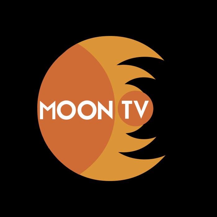 Moon TV logo pink