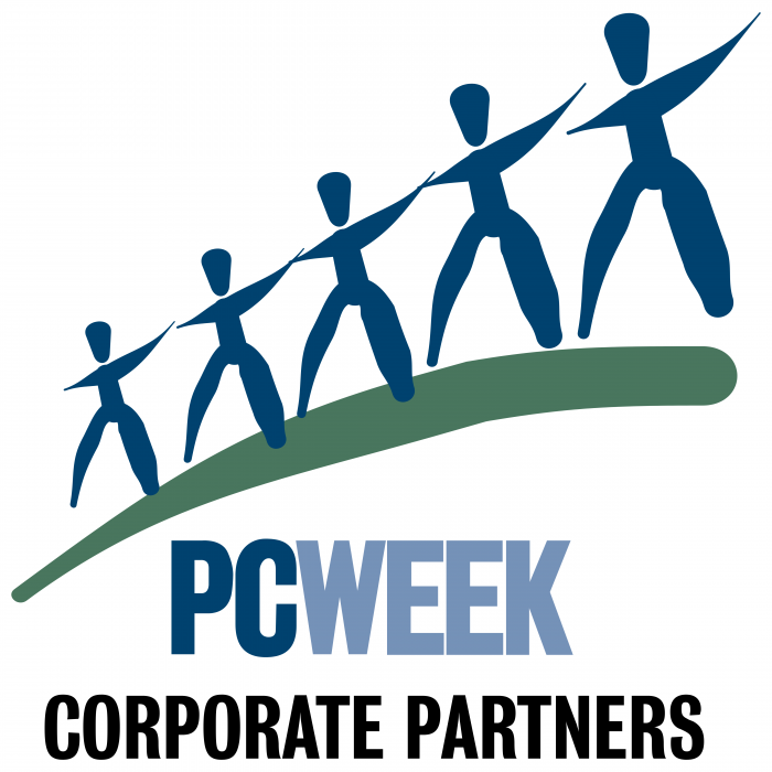 PCWeek Corporate Partners logo blue