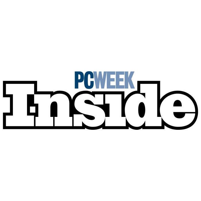 PCWeek logo inside