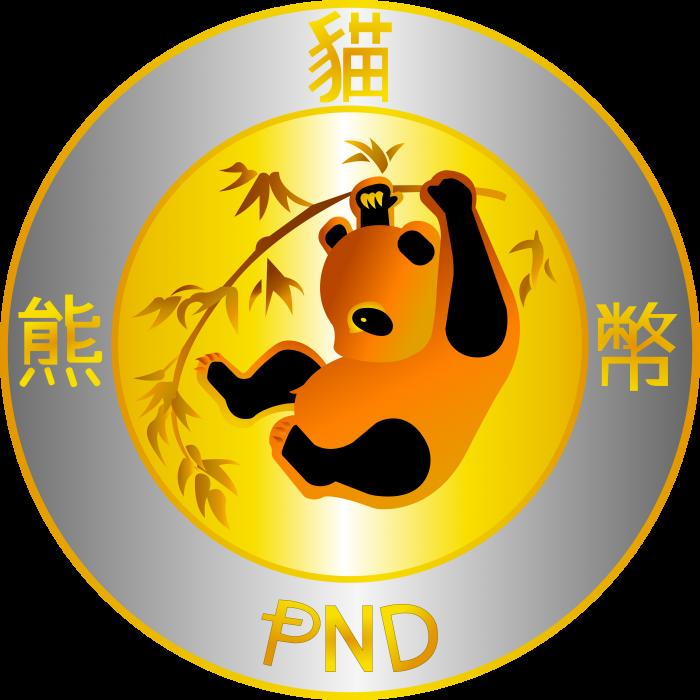 PandaCoin logo coin
