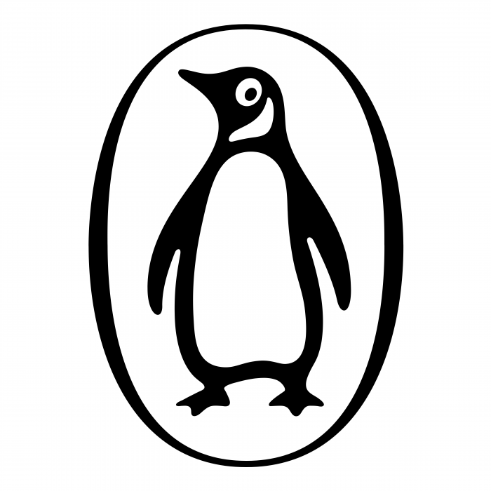 Penguin logo white